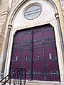 Cathedral of Saint Mary of the Immaculate Conception (Peoria, Illinois) - cathedral doors 2.jpg