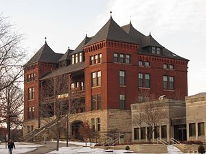 Iowa State University - Catt Hall, named for Carrie Chapman Catt