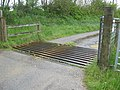 Cattle grid in farm track to Canakey Wood - geograph.org.uk - 1310996.jpg