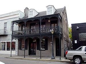 Cavallero House - The Cavallero House at 7 North Jackson Street.