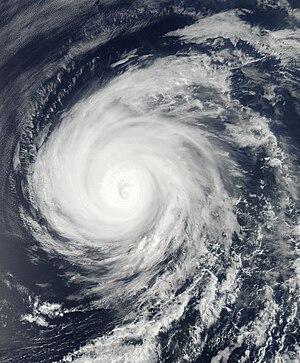 Hurricane Celia (2010) - Hurricane Celia weakening on June 25