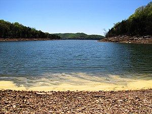 DeKalb County, Tennessee - Center Hill Lake at Edgar Evins State Park