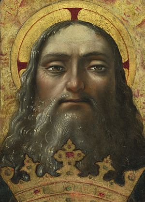 Abrahamic religions - Central Italian School 16th century Head of God the Father