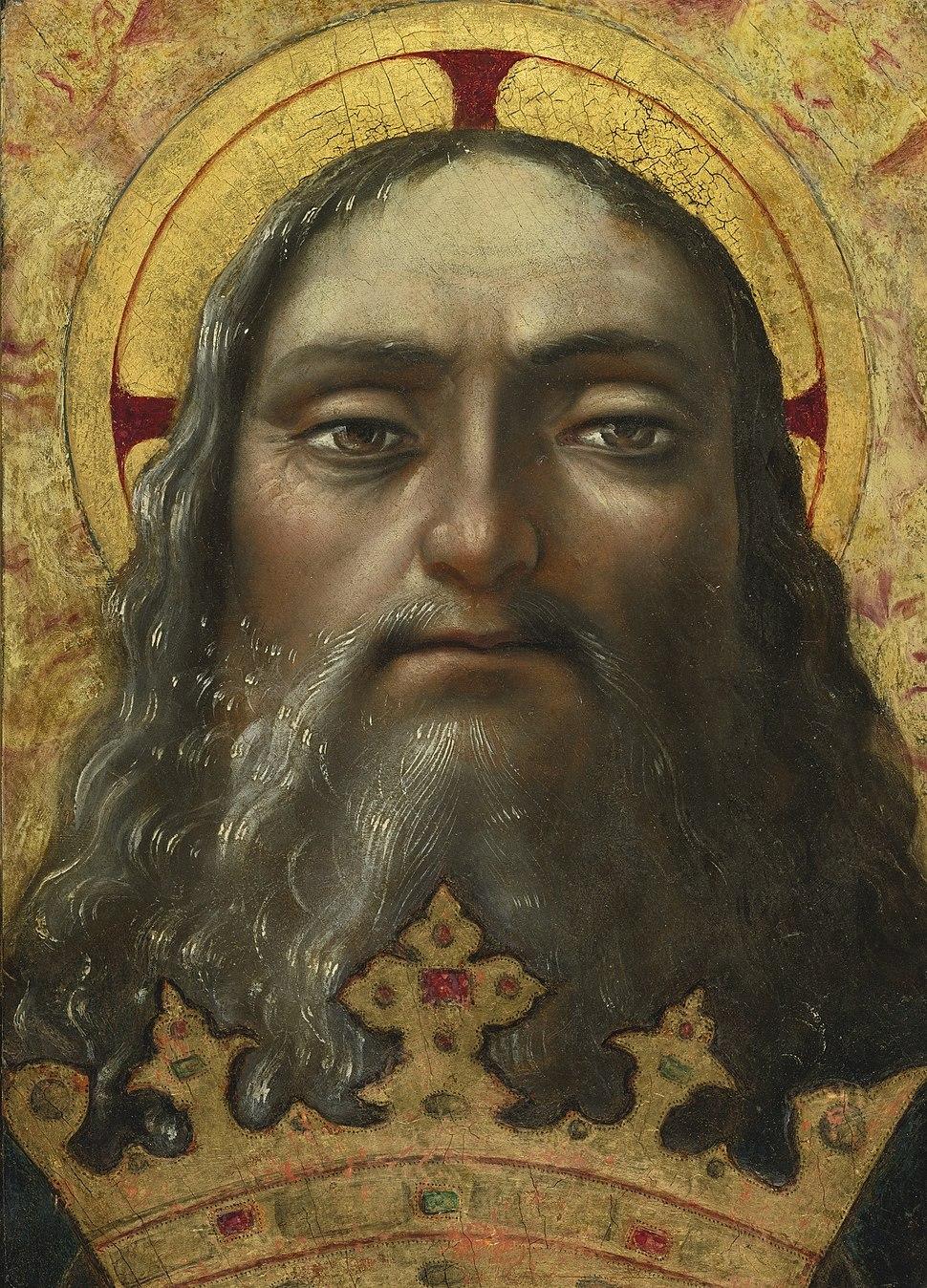 Central Italian School 16th century Head of God the Father