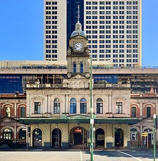 Central railway station, Brisbane railway station in Brisbane, Queensland, Australia