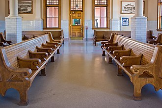 Centralia, Washington - The interior of Centralia Union Depot
