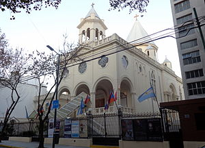 Armenian Argentine - Saint Gregory the Illuminator Cathedral in Buenos Aires
