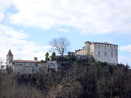 The chateau in Prat