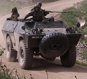 Bravia Chaimite - Portuguese Chaimite V200 during Exercise Iberian Resolve, 2002.