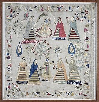 Chamba Rumal - Chamba Rumal (handkerchief)