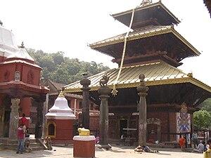 Chandeshwari - A view of  Chandeshwari Temple