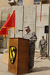 Change of Authority Ceremony at Joint Service Station War Eagle, Baghdad, Iraq DVIDS159746.jpg
