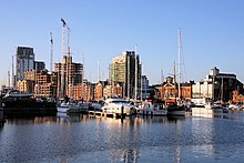 Changing skyline of Ipswich Docks - geograph.org.uk - 1077480.jpg