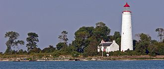 Heritage Lighthouse Protection Act - Chantry Island Lighthouse, Ontario, one of the first lights to be nominated under the Act is not yet designated