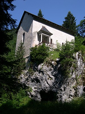 Lectio Divina - A chapel at Grande Chartreuse where Ladder of the Monk was written by Guigo II