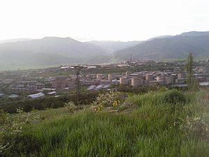Charentsavan - Charentsavan landscape