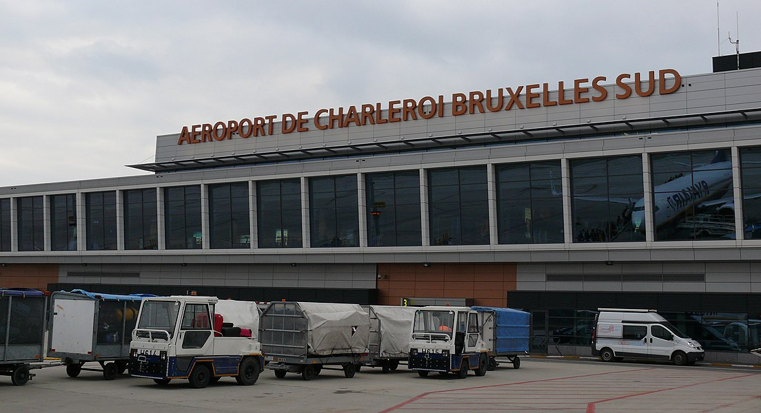 Main hall at Brussels South Charleroi Airport
