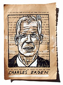 Charles Ergen Portrait Painting Collage By Danor Shtruzman.jpg