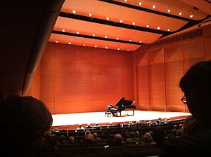 Charlie Albright - Albright in concert at Lincoln Center's Alice Tully Hall in February 2013