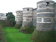 Chateau angers porte interieur gauche