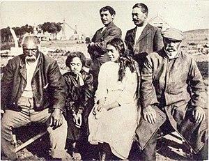 Moriori - Moriori family c. 1910