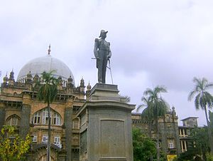 Chhatrapati Shivaji Maharaj Vastu Sangrahalaya - 'Statue of The Prince of Wales, who became the Emperor, George Vth, later