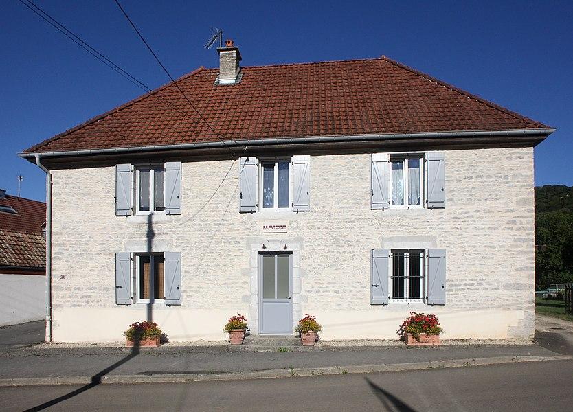 Mairie de Chaux-les-Passavant (Doubs).