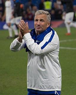 Dan Petrescu Romanian footballer