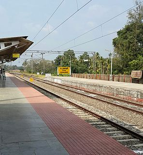 Chengannur railway station Railway station in Kerala