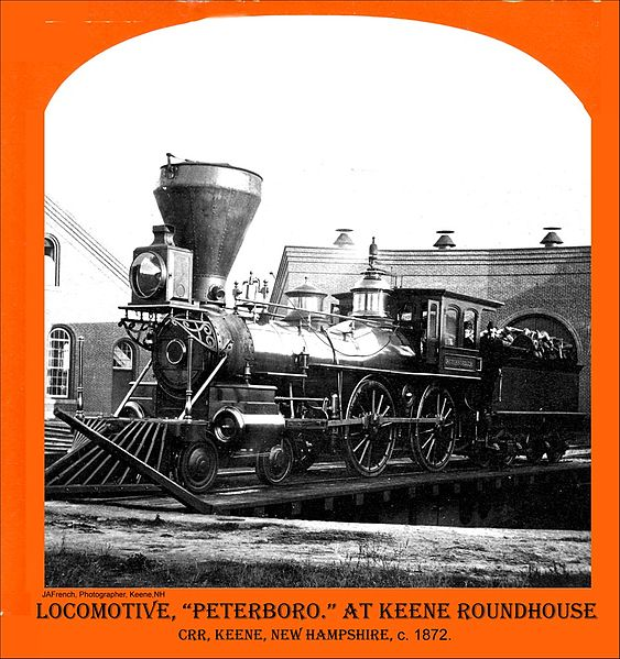 File:Cheshire Railroad Locomotive Peterboro in Keene New Hampshire (4506125668).jpg