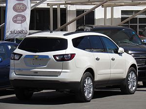 Chevrolet Traverse - 2013 facelift