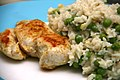Chickenbreast and Pea Risotto with Lemon and Basil (4356295826).jpg