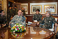 Chief of Staff of the U.S. Army Gen. Raymond T. Odierno, second from left, and Chief of Staff of the Republic of Korea Army (ROKA) Gen. Kwon Oh-sung, right, conduct an office call at the ROKA headquarters 140224-A-KH856-163.jpg