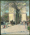 Childe Hassam - Washington Arch, Spring - Google Art Project.jpg