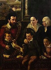 Family portrait (detail).