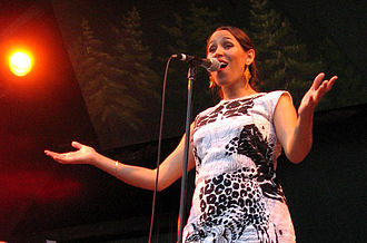Pink Martini - China Forbes in 2006