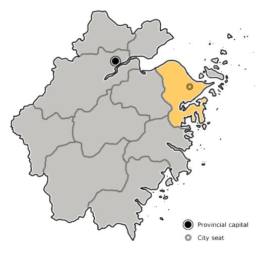 Ningbo City in Zhejiang