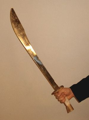 "Picture of Chinese ""Dao"" Saber"
