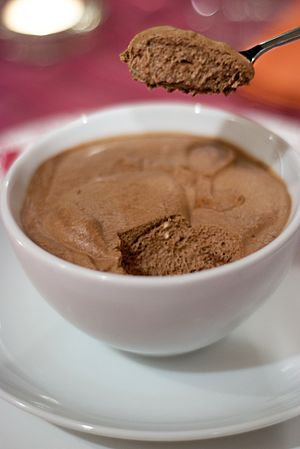 Mousse - Image: Chocolate coffee mousse