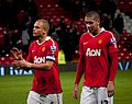 Chris Smalling and Wes Brown.jpg