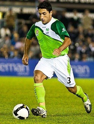 Chris Tadrosse - Tadrosse playing for North Queensland Fury in 2009
