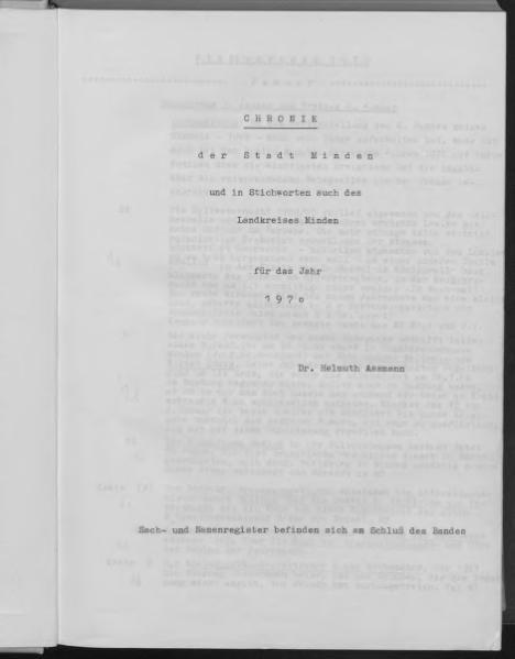 File:Chronik der Stadt Minden, 1970.djvu