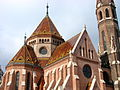 Church Facade along the Danube - Buda Side - Budapest - Hungary - 01.jpg