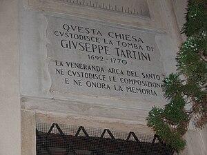 English: Memorial tablet of composer Giuseppe ...