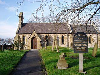 Elton, County Durham village and civil parish in Stockton-on-Tees, County Durham, England