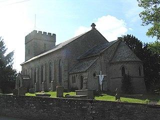 St Mary's Church, Hay-on-Wye church in Hay-on-Wye, UK
