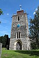 Church of St Mary the Virgin, Woodnesborough, Kent - tower at west.jpg