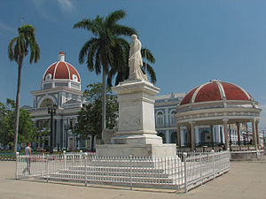 Cienfuegos - Marti Park and City Hall