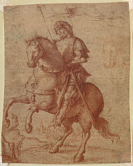 A Saint on Horseback