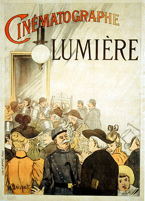 L'Arrivée d'un train en gare de La Ciotat - An early Lumière advertisement